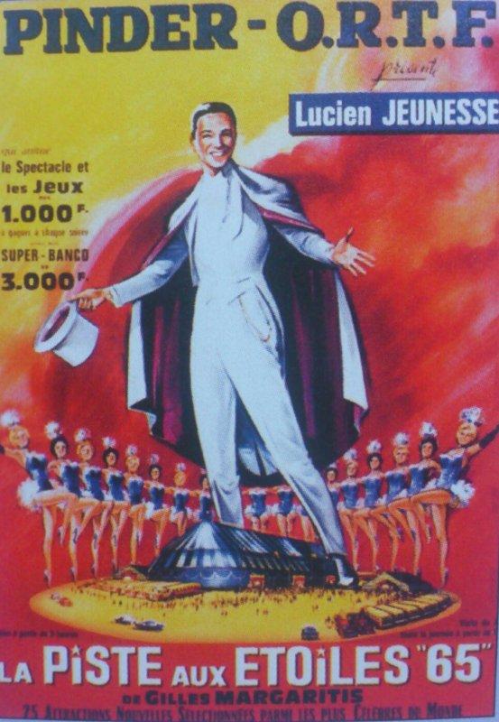 Lucien Jeunesse est le monsieur loyal de  1965 à 1969