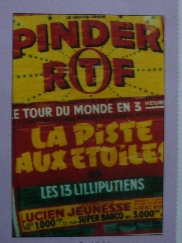 Le Monsieur Loyal chez Pinder dans les affiches ...