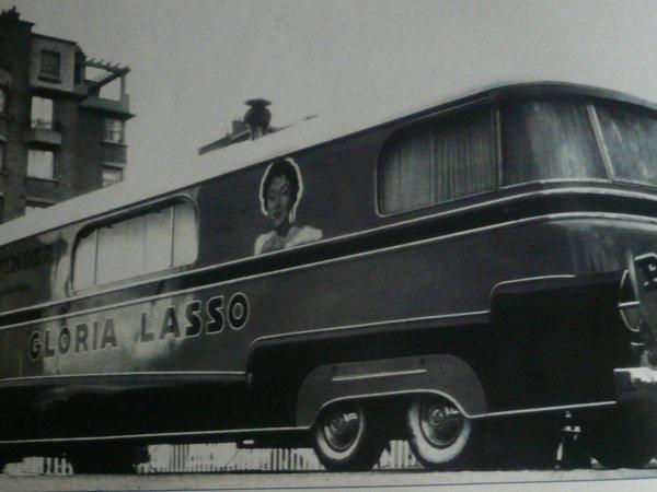 Gloria Lasso en vedette américaine chez Pinder 1958