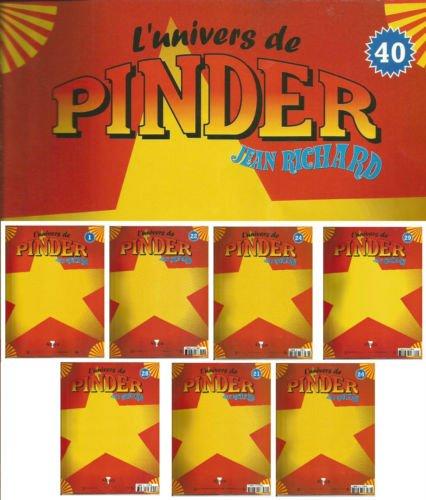 Les fascicules d'Altaya l'univers de Pinder 2002 /2005