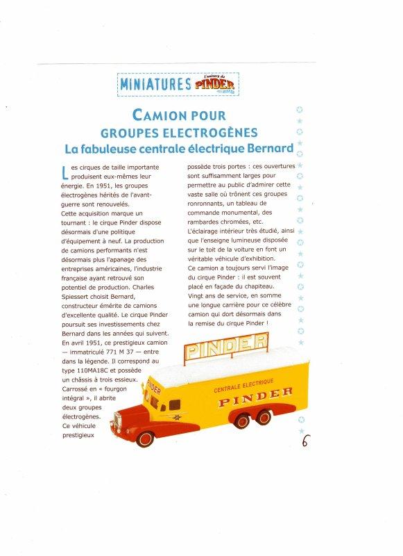 """N° 5; En Octobre 2002 """" La centrale électrique Bernard"""" ...."""