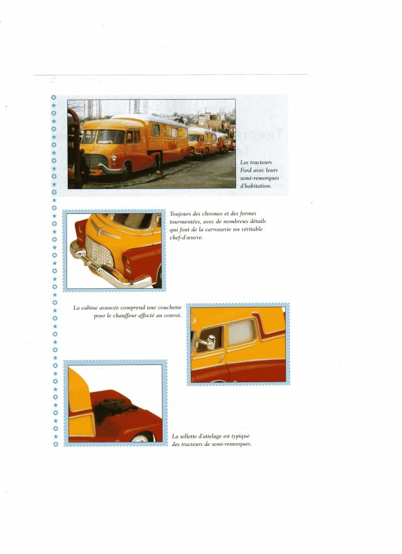 N° 14 ; Tracteur de FORD ASSOMPTION Semi Habitation