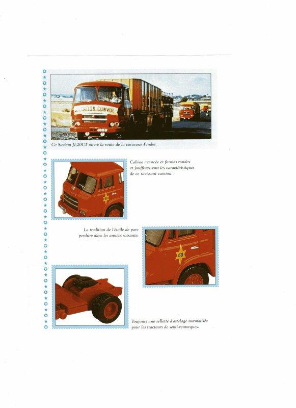 "N° 16 ; En Avril 2003 ""Tracteur SAVIEM remorque Matériel""  ..."