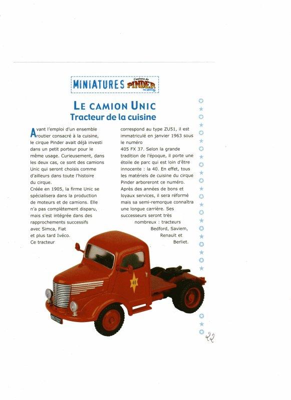 "N°22; Courant 2003  ""Tracteur Unic Type ZU U51"""