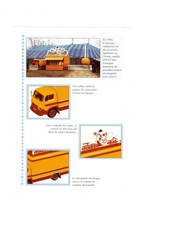 """N° 29; Courant 2003 """" Le Camion Bar Citroën 450 N """""""