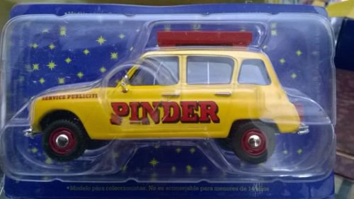 """N° 48 ; En Août 2004 """" Renault 4L service publicitaire"""""""