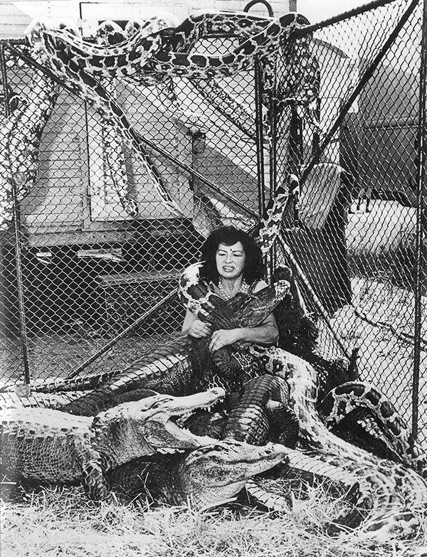 1956 KORINGA, mulher de faquir e encantadora de répteis