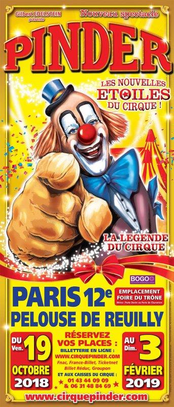 Le cirque Pinder pelouse de Reuilly Paris et mon coup de gueule voir + bas