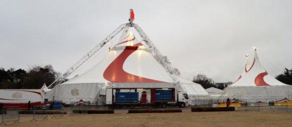 Le Cirque Arlette Gruss avec Le Privilège pelouse de Reuilly Paris 2018
