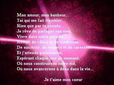 mon amour .....