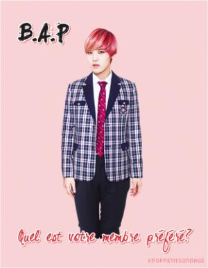 B.A.P - Quel est votre membre préféré?