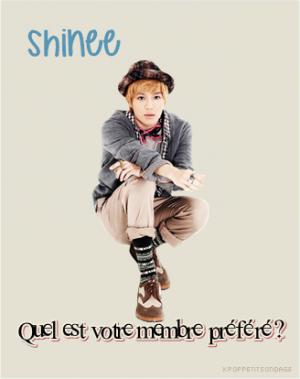 SHINee - Quel est votre membre préféré?