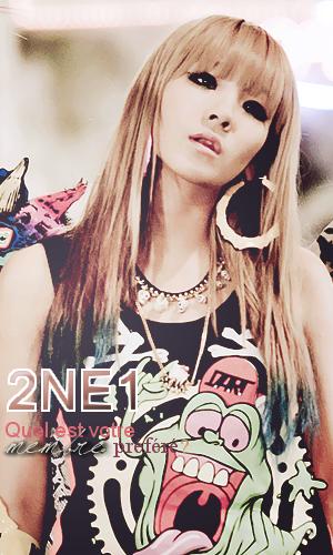 2NE1 - Quel est votre membre préféré?