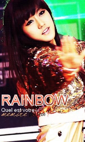 Rainbow - Qui est votre membre préféré?