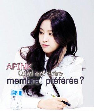 APink - Qui est votre membre préférée?