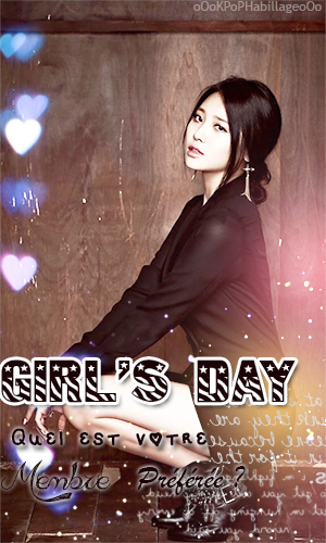 GIRLS DAY - Qui est votre membre préférée?