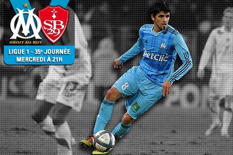 OM - Brest 3-0