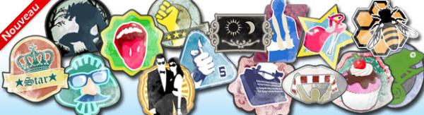 ¡Descubre las MEDALLAS! ¡Una lluvia de medallas para tu blog y tu perfil!