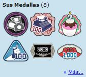 Nuevo: Más acerca de las Medallas...