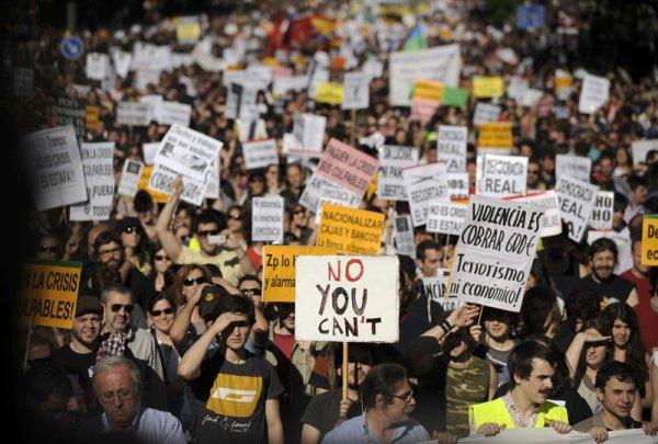 ¡Spanish Revolution! NO NOS CALLARÁN
