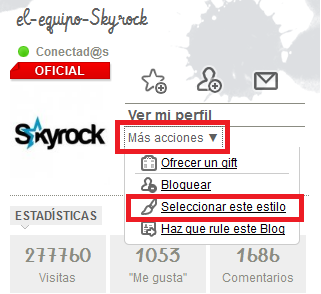 ¡Skyrock te escucha!