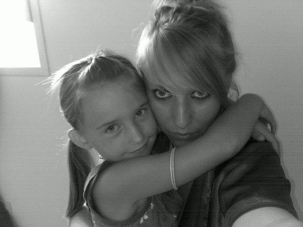 [..] Ma petite soeur . Ma raison d'être . Mon tout . Ma vie ..