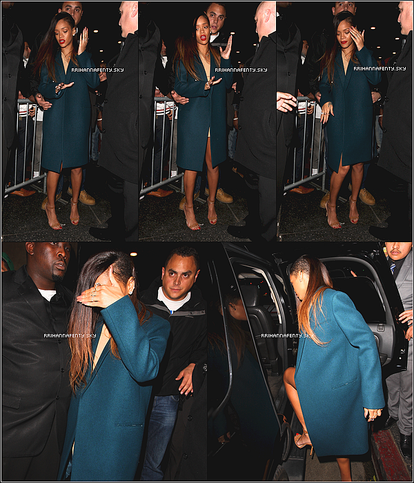 .Candids. : 08.01.2013 : Rihanna était de sortie hier soir au club Supperclub à Los Angeles.