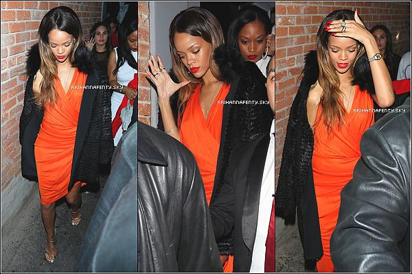 Candids : 14.02.2013 : Rihanna s'est rendue à un concert spécial St. Valentin, le Valentines Crush Concert organisé par la radio Power 106 à Los Angeles. Plus tard dans la soirée, Rihanna est allée s'amuser au club Bloke dans la Cité des Anges.