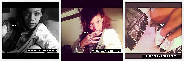Candids : 22.02.2013 : Avant de s'envoler pour Los Angeles, Rihanna a été aperçue au bord de la piscine à Hawaï. De plus des photos personnelles venant de son compte personnelle Instagram et celui de sa meilleure amie Melissa sont disponible.