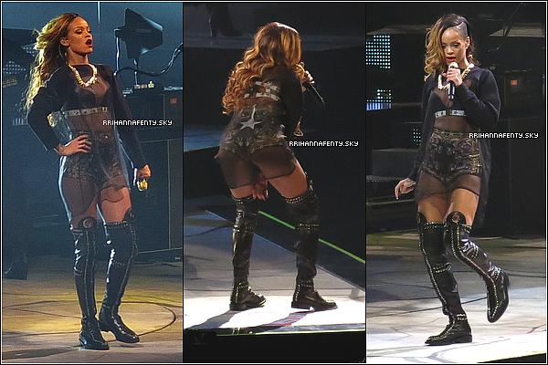 Live Performances : 08.03.2013 : C'est le grand jour pour Rihanna et pour ses fans! La nouvelle tournée de la chanteuse, le Diamonds World Tour, débutera ce soir à Buffalo dans l'état de New-York aux États-Unis. C'est le rappeur A$AP Rocky qui sera aux commandes de la première partie et qui, pour rappel, assurera le reste des dates dans le pays.