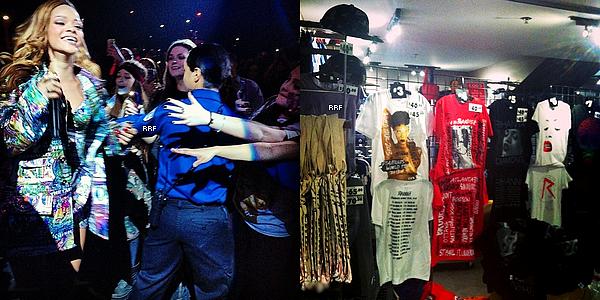 Live Performances : 18.03.2013 : Rihanna se trouvait hier à Toronto pour le premier de ses deux shows au Air Canada Centre, dans le cadre du Diamonds World Tour. Elle a de nouveau interprété You Da One; il semblerait donc que la chanson soit officiellement ajoutée à la setlist.