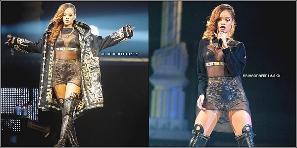 Live Performances : 27.03.2013 : Rihanna a donné un concert au Rexall Place à Edmonton dans le cadre du Diamonds World Tour. De plus, des photos venant du compte Instagram de Rihanna sont disponible.