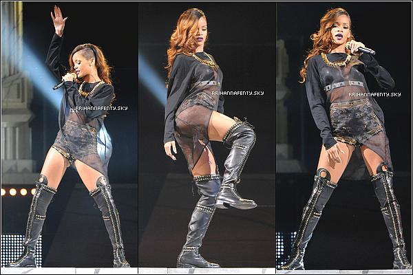 09.04.2013 : Rihanna a donné un concert à Anaheim en Californie. De plus, une vidéo de l'interprétation de Mother Mary est disponible.
