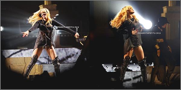 01.06.2013 : Rihanna a été aperçue quittant son hôtel à Barcelone en Espagne. Plus tard dans la soirée, Rihanna donnait un concert dans le cadre du Diamond World Tour.