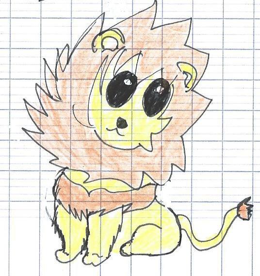 Chibi lion.