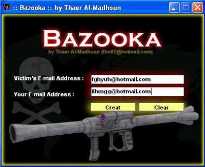 logiciel bazooka gratuit pour pirater msn