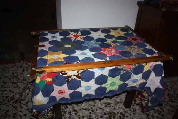 Ma table à quilter