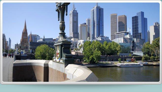 Southbank, Melbourne CBD