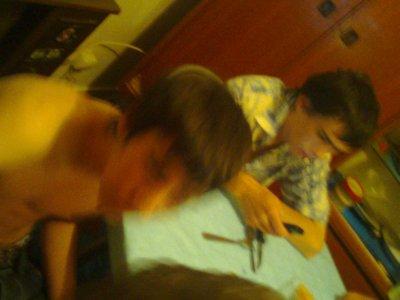 mes neuveux nicolas et david