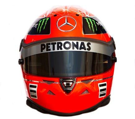 Schumacher démarre avec Schuberth pour le retour et s'appuie sur la haute technologie casque « Made in Germany »