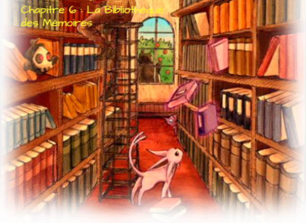 Ce monde incolore Chapitre 6 : La Bibliothèque des Mémoires