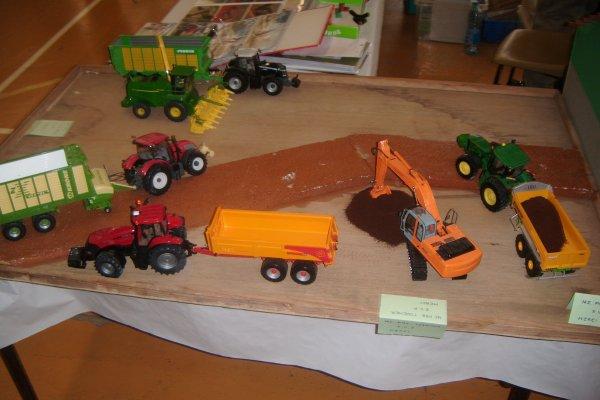 EXPOSITION DE MINIATURE AGRICOLE Bergére les vertus 2012