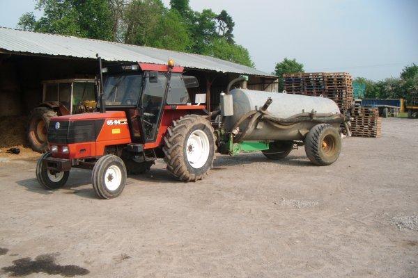 tracteure fiat