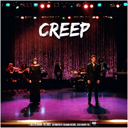 Glee cast  / Creep  (2013)