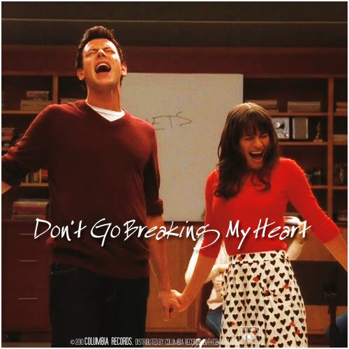 Glee Cast / Don't Go Breaking My Heart  (2011)