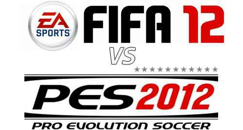 FIFA 12 VS PES 12