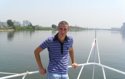 in the Nile River :D
