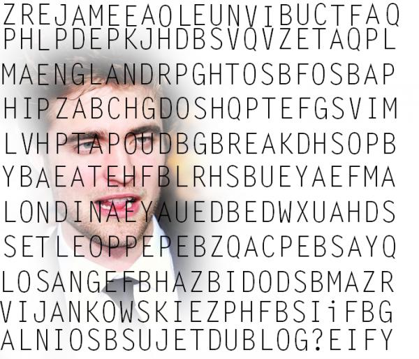 Jeux  » 7 Mot cachés en anglais(devinette inclue à laquelle il faut répondre.Les mots se composent d'un minimum de 4lettres)  + 7 erreurs(le rognage de la photo n'est pas compté comme une erreur).