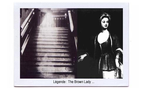 La photo du fantôme de Brown Lady