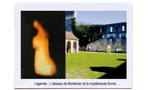 L'abbaye hantée de Mortemer + reportage vidéo